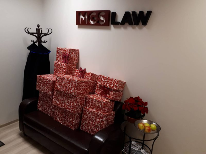 Każdy może pomóc, Szlachetna paczka, MGS-LAW kancelaria prawna , pomagamy